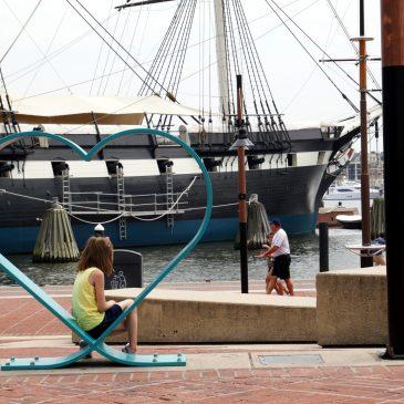 17. August 2018 – Der erste Tag in Baltimore