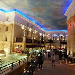 Im Casino des Hotel Caesars