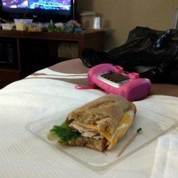 Abendessen im Hotel in Georgetown
