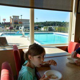 Frühstück im Hotel in Georgetown
