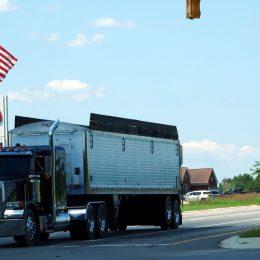 Typisch amerikanischer Truck