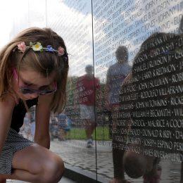 National Mall - Vietnams Veterans Memorial