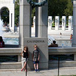 World War II Memorial - California