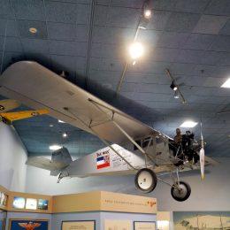 Altes Arktis-Flugzeug