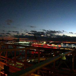 Panorma von der Brooklyn Bridge
